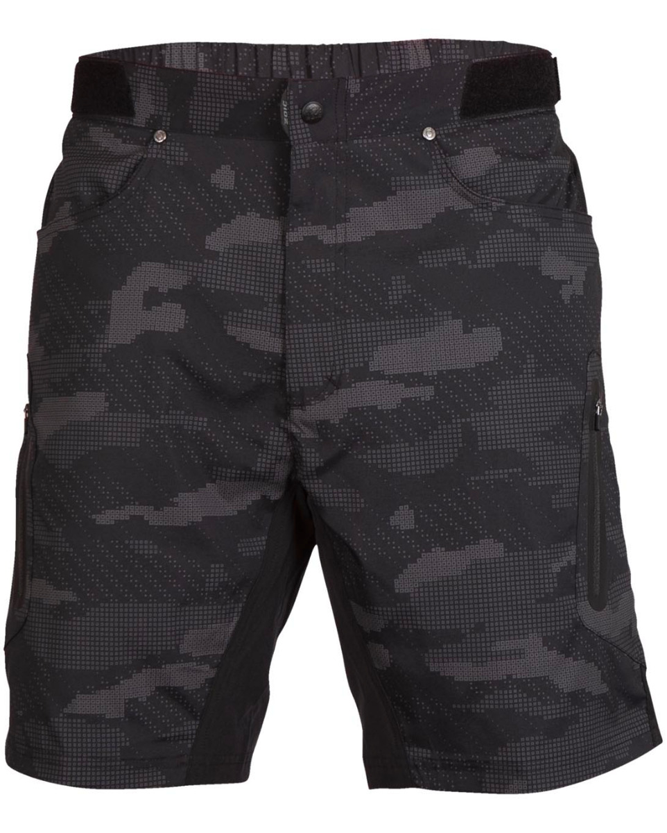 Ether 9 Camo Shorts + Essential Liner