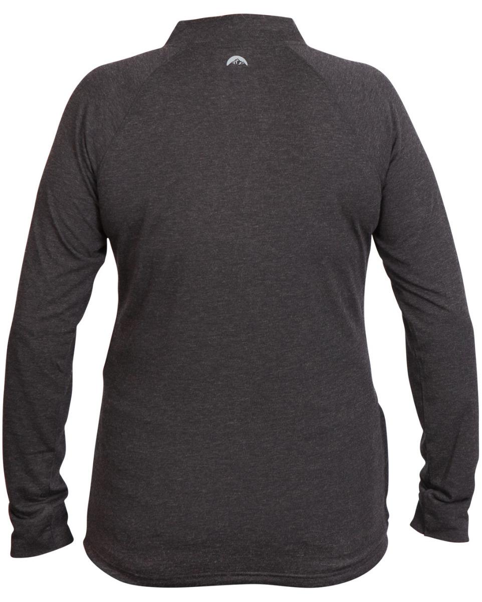Women's Strata Wool LS Zip Jersey