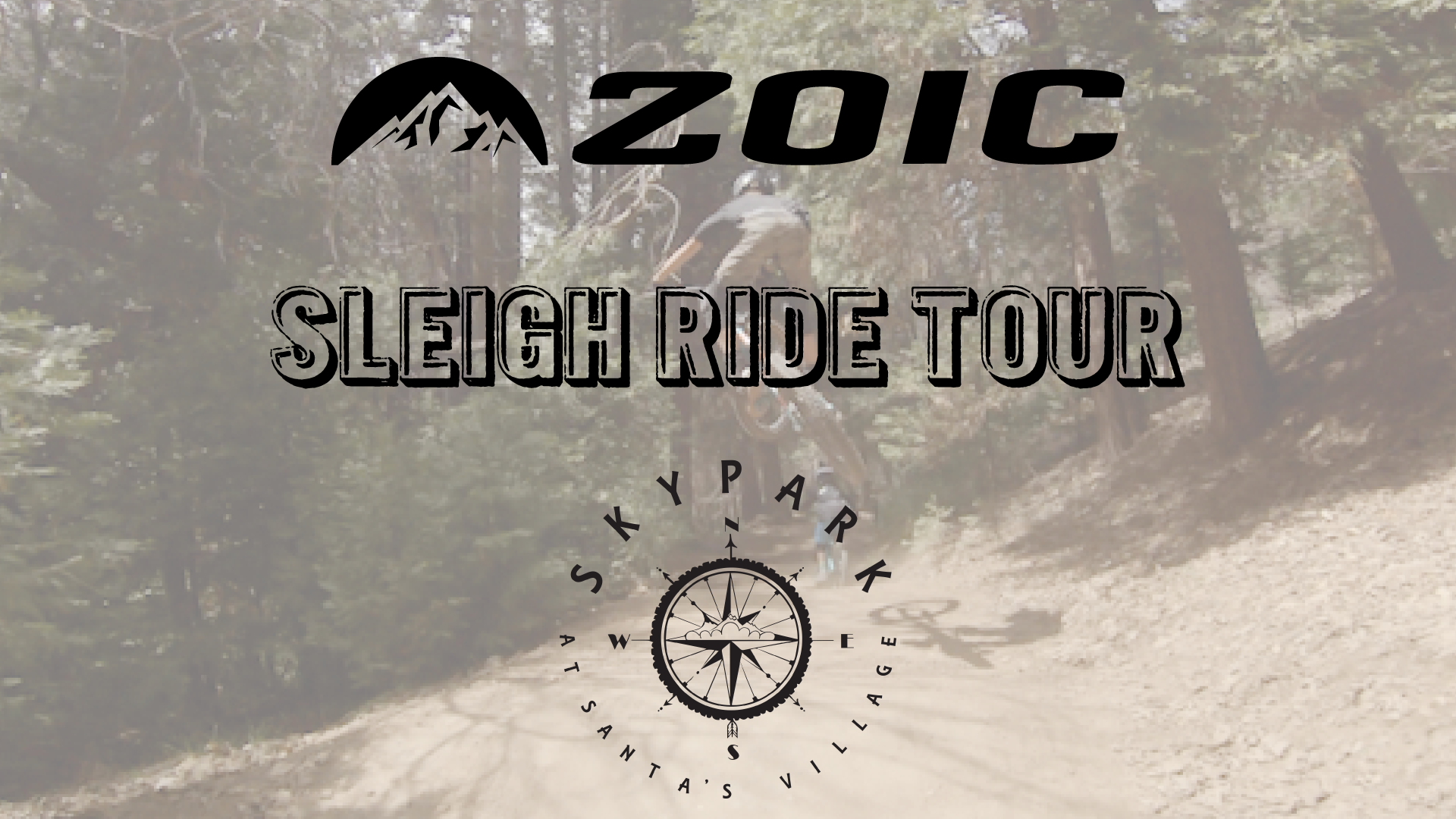 ZOIC Tour of Sleigh Ride Trail at Sky Park Santa's Village